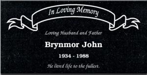 BrynmorJohnMemorial